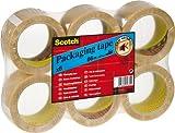 3M PVC6RT/PVC-5066F6-T-EU Scotch Verpackungsklebeband, transparent, 6 Rollen