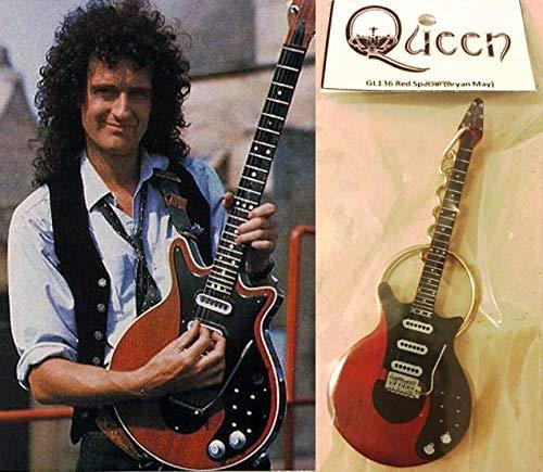 Llavero guitarra roja especial Brian May