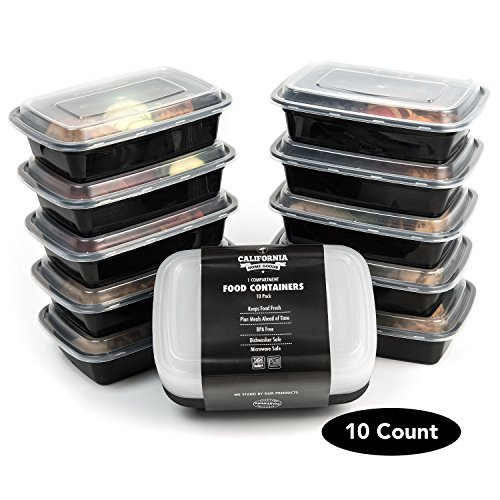 10-pack-premium-1-compartment-stackable-meal-prep-containers-with-lids-microwave-dishwasher-safe-and