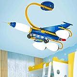 Kinder Deckenleuchten führte Flugzeug Junge Kinderzimmer Lampe Schlafzimmer Lampe Cartoon Lampe