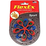 FlexEx SPORT Patented Hand Exerciser, Made in USA, Hand Grip Strengthener, for Sport and Music, Law Enforcement Hand Exerciser