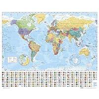 Empire Mini Poster World Map
