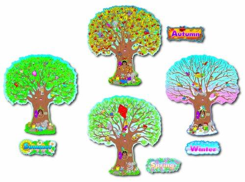 Carson Dellosa Vier Jahreszeiten Bäume Bulletin Board Set (3214)