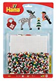 Hama 4203 - Sortiment Weihnachtszeit, ca. 1100 Bügelperlen und Stiftplatte