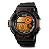 Aposon pour homme Digital montre de sport militaire de l'écran LED montres et...