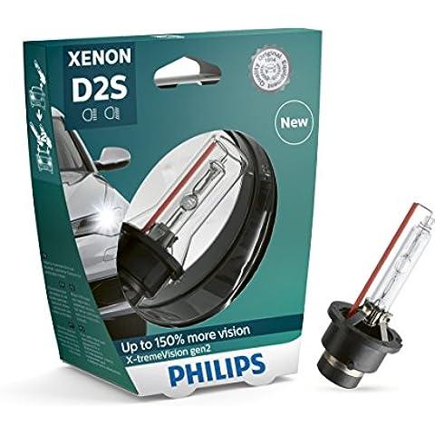 Philips 85122X v2s1faros delanteros de xenón Bombilla X-tremeVision D2S Gen2, einz elblister