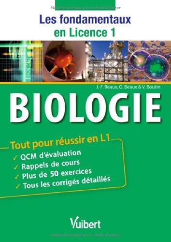 Biologie - Tout pour russir en L1