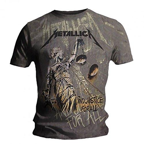 Metallica T-shirt Metallica - Justice Neon Allover Générique