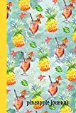 Pineapple: Journal, Beautiful Watercolor Tropical Design, Lined Pages, Perfect For Everyday Use...