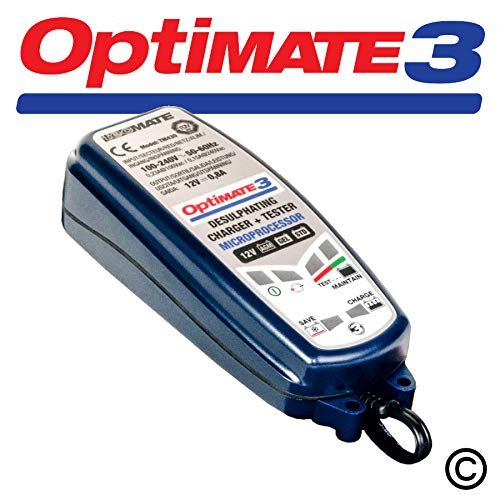 Optimate 3 12V Motorcycle Automatic Battery Charger Optimiser