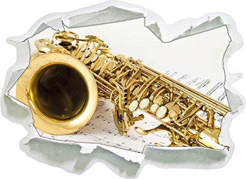 sassofono-su-carta-nota-carta-3d-autoadesivo-della-parete-formato-92x67-cm-decorazione-della-parete-