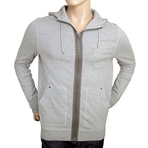 BOSS BOSS0811 Orange Label Grey 50240608 Ztylo Zip Up Herren Hugo Sweatshirt -