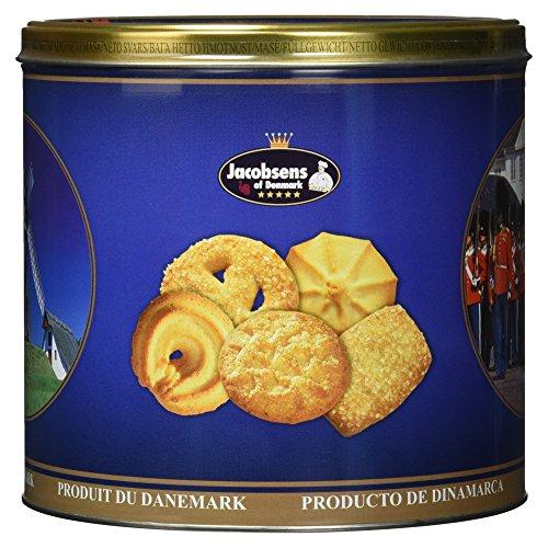 Jacobsens of Denmark original Dänische Buttercookies, 500g