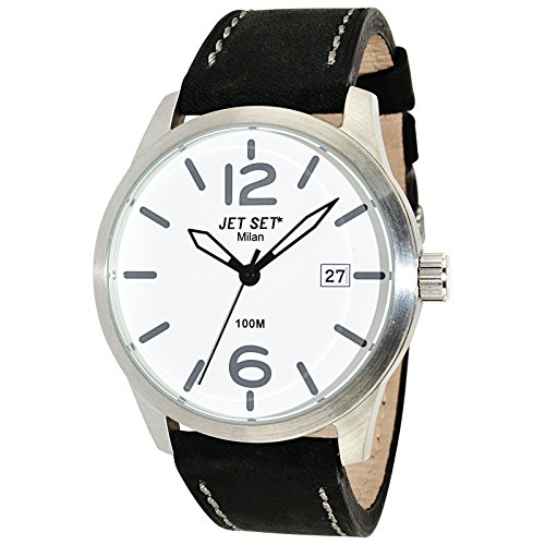 Jet Set Men's Watch Milan black/silver J63803-257
