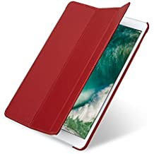 "StilGut Couverture Case, Apple iPad Pro 10.5"" 2017 Hülle aus feinstem Leder für Apple iPad Pro 10.5 2017, Rot"