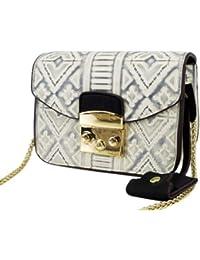 Datuk Women's High Quality PU Leather Multi-color Handbag