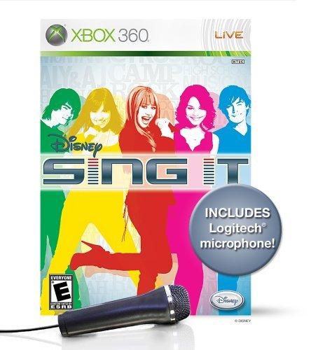 Disney Sing It Bundle with Microphone -Xbox 360 by Disney Interactive Studios (Disney Sing It Für Xbox)