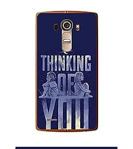 Fuson Designer Back Case Cover for LG G4 :: LG G4 Dual LTE :: LG G4 H818P H818N :: LG G4 H815 H815TR H815T H815P H812 H810 H811 LS991 VS986 US991 (a girl a boy moon night stars soch)