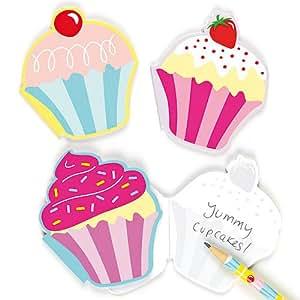 duftende notizbl cke cupcakes schreibwaren f r kinder als mitgebsel und preis beim. Black Bedroom Furniture Sets. Home Design Ideas