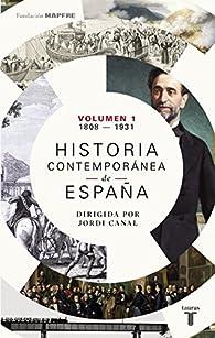 Historia contemporánea de España par  Varios autores