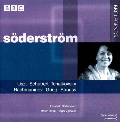 Strauss, Grieg, Nielsen, Liszt, Schubert, Wolf, Tchaïkovski, Sibelius : Lieder