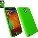 Emartbuy ® Samsung Galaxy Note 3 Silikon Skin Cover / Schutzhülle Grün