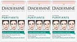 Diadermine Pack de 3 x 6 Strips Purifiants Anti Points Noirs/Impuretés