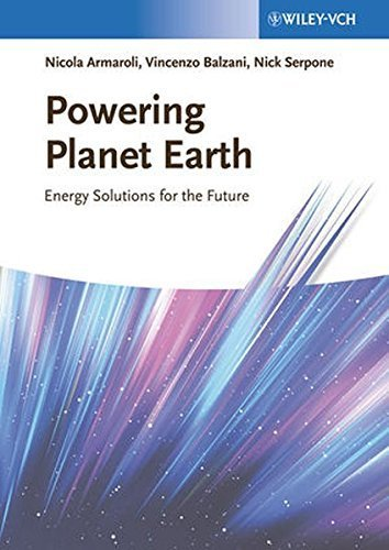 Powering Planet Earth: Energy Solutions for the Future by Nicola Armaroli (2013-04-15)