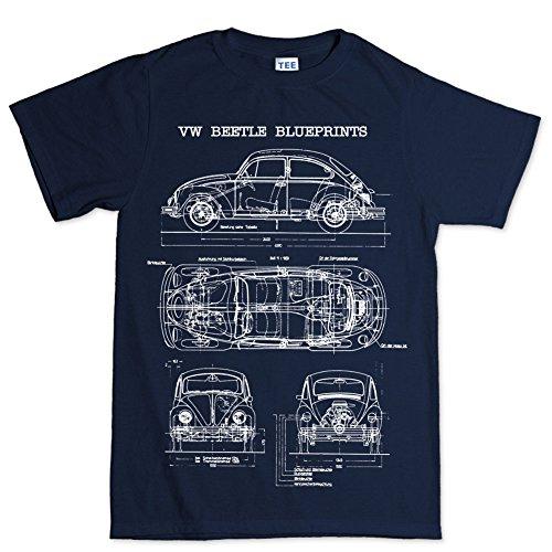 beetle-bug-camper-classic-blueprint-t-shirt-bleu-large
