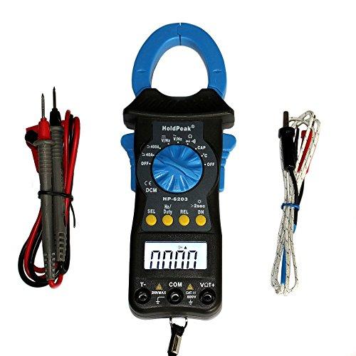 Kompaktes digitales AC DC Zangen-Multimeter HP-6203 Gleichstromzange Stromzange