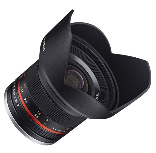 Samyang 12 mm f/2.0 Weitwinkel Objektiv APS-C Canon M