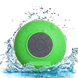Meckwell Water Proof Bluetooth Shower Speaker With Mic Wireless Portable Stereo - Best