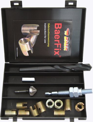 BaerFix® Gewindereparatur-Satz M 8 x 1,25 - PRO