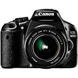 Canon EOS 600D - Cámara Réflex Digital 18.7 MP (Objetivo EF-S 18-135mm) (Reacondicionado Certificado)