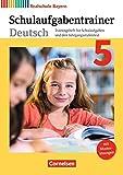 Deutschbuch - Realschule Bayern - Neubearbeitung / 5. Jahrgangsstufe - Schulaufgabentrainer mit Lösungen - Renate Kroiß