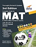 Complete Guide for MAT and Other MBA Entrance Exams with GK 2017 & Current Update eBooks