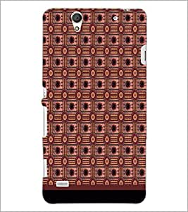 PrintDhaba Pattern D-1724 Back Case Cover for SONY XPERIA C4 (Multi-Coloured)