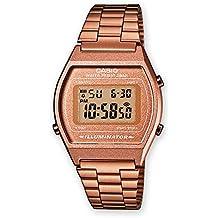 Reloj Casio digital Retro caballero correa acero inoxidable Color Oro Rosa C0001