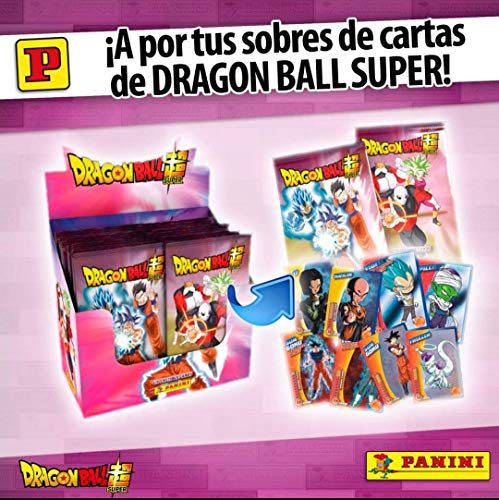 Panini 1 Caja con 50 Sobres Dragon Ball Super TC 2019
