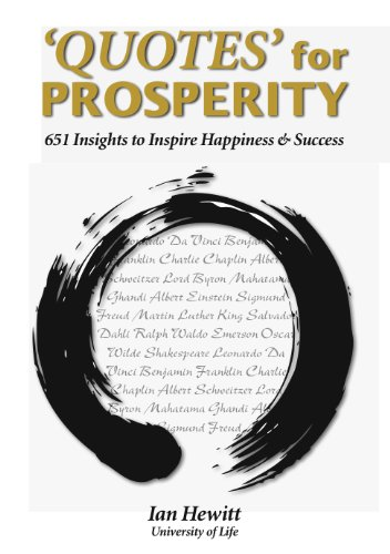 Quotes For Prosperity 369 Insights To Inspire Happiness Success