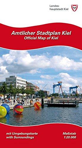 Amtlicher Stadtplan Kiel: Maßstab 1:20.000