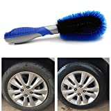 Aodoor cerchioni spazzola per lavaggio auto spazzola per cerchioni, auto pneumatici raggi Spazzola per lavaggio a mano blu