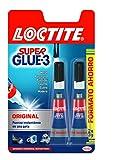 Loctite Original - Super Glue-3 (2 x 3 gr)