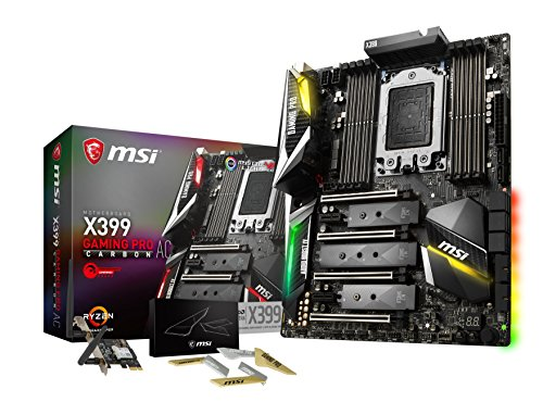 MSI X399 Gaming Pro Carbon AC - Placa Base Performance