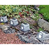 4 Pack Rock Solar Lights