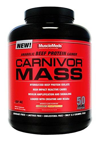 Carnivor Mass 14 servings Cioccolato e Burro di (Ripartizione Proteine )