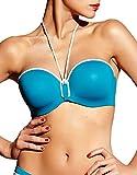 Chantelle Damen Bikini-Set Gr. 80C, Aqua