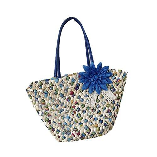 JARONG Women's Handbag Straw Beaches