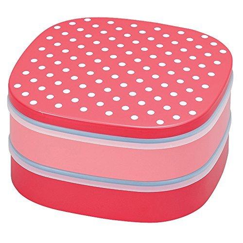 scatola di pranzo al sacco Cheri (a due stadi dettaglio