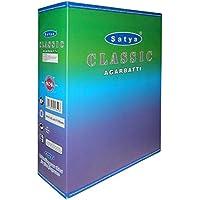 Preisvergleich für Räucherstäbchen 240g Satya Classic Nag Champa Duftsorte 12 Schachteln zu je 20g Sai Baba Produkt Wohnaccessoire...
